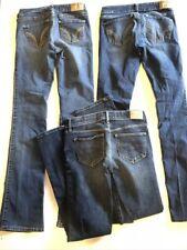 Women's Hollister Abercrombie Jeans Bundle Lot 0 24 25 X31 Stretch Girls 14 16