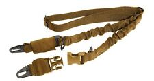 tactical rifle sling 2 point coyote brown military style rothco 4657
