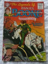 """Legends of Daniel Boone Frontier Scout #3 January 1956 - """"The Shawnee Raiders!"""""""