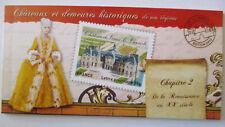 Frankreich, Markenheftchen Châteaux et demeures historiques 2012 postfris MNH .