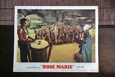 ROSE MARIE Orig INDIAN TOTEM TOM TOM DANCE Lobby Card JOAN TAYLOR HOWARD KEEL
