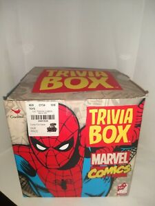 Marvel Comics Trivia Box NOS Spiderman Cap American Fun Collectible:)