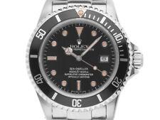 Rolex Sea-Dweller ACCIAIO AUTOMATICO BRACCIALE ACCIAIO 40mm ref.16660 Vintage anno 1984