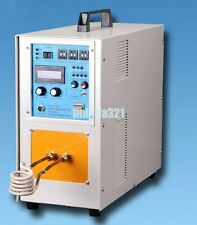 15KW 30-80 KHz High Frequency Induction Protable Heater Furnace 110V / 220V