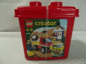 RETIRED LEGO Creator Red Bucket Set 4115 All That Drives *NEW & STILL SEALED*