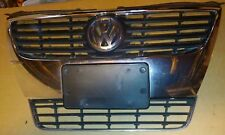 06-10 VW PASSAT  FRONT UPPER and lower GRILLE ASSEMBLY CHROME and license plate