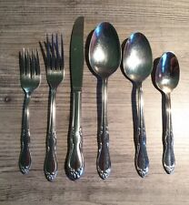 SL & GH Rogers stainless Flatware Homestead Pattern 29 Pieces