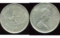 HONG KONG  1 dollar 1979   ( bis )