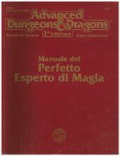 MANUALE DEL PERFETTO ESPERTO DI MAGIA AD&D seconda edizione tsr 2115 phbr4 RIPA