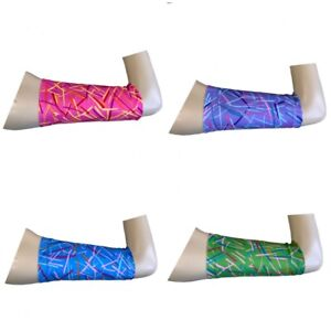 Picc line covers freestyle libre sleeve Lycra armband chemo diabetes Abstract