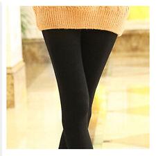 Womens Warm Winter Skinny Slim Leggings Napping Candy Color Nine Pants Charming