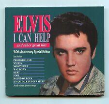 Rare Elvis Presley CD - I Can Help - Bonus Tracks - 30th Anniversary Ed- Import