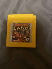 Donkey Kong Land Nintendo Game Boy Color Game TESTED WORKING AUTHENTIC!