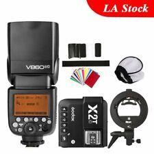 Godox V860II-C Speedlite TTL X2T-C Bluetooth Transmitter Bowens Bracket F Canon