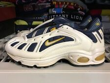Nike Air Max Tailwind 3 Navy Maize Ds 9.5 Cracked Unwearable 1998
