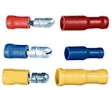 Fiche mâle femelle ronde connecteur à sertir de 0.5 à 6 mm² 5-10-25 et 50 pièces