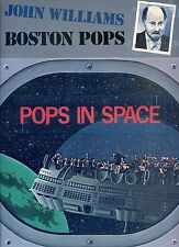 JOHN WILLIAMS - BOSTON POPS pops in space HOLLAND EX LP 1980