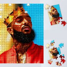 Puzzle Rap Nipsey Hussle Wooden Jigsaw Decoration Gift Image Family Games 500pcs