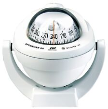 Boat Marine Compass Plastimo Offshore 95 Bracket White Conical LED Back Light