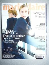 Magazine mode fashion MARIE CLAIRE french #758 octobre 2015 Diane Kruger