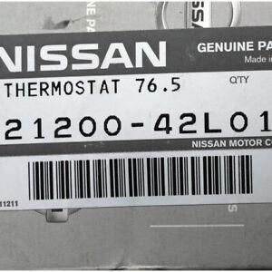 Genuine Nissan Engine Coolant Thermostat 21200-42L01