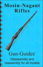 Mosin Nagant Manual Book Takedown Guide direct from Gun-Guides Disassembly Rifle