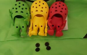 2 RIVETS,FASTENER,BUTTON,BLACK NEW (FAST SHIP)  fit CROCS  U.S.A. Replacement