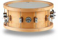 PDP by DW 20-Ply Snare Drum with Wood Hoops 14 x 6.5 in. Natural Lacquer