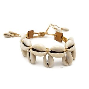 Cowrie Shell Anklet Leather Boho Beach Wear Fashion Jewelry