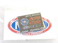 NHRA Collectible Hat Pin 2008 44th Annual Auto Club Finals Pomona CA NEW