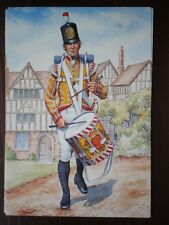 POSTCARD THE 77TH (EAST MIDDLESEX) REGIMENT OF FOOT 1808 DRUMMER