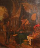 1891 ANTIQUE PORTRAIT OIL PAINTING SIGNED