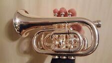 Pocket Trumpet Amati Kraslice ATR314 Silver plated includes case & 7C mouthpiece