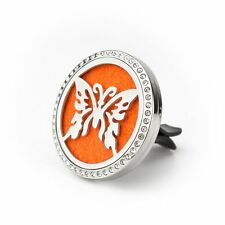 Butterfly of Hope Charm - Car Vent Air Freshener -  Aromatherapy Diffuser