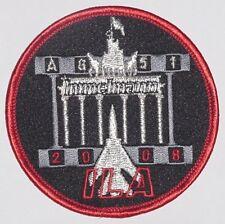 """Aufnäher Patch Luftwaffe ILA 2008 AG 51 """"Immelmann"""" ............A4206K"""