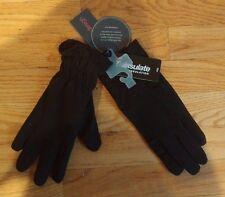 ECHO TOUCH* Thinsulate 40g Leather/Nylon iPhone Gloves in Black