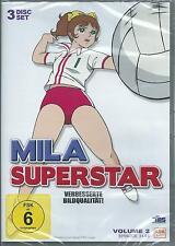 Mila Superstar - Vol. 2 Episode 31-55 - 3 DVDs Neu OVP