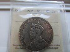 Canada 1935 $1 Silver Dollar ICCS M63 - KEY DATE