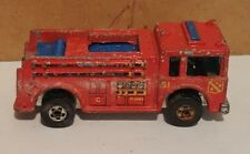 Vintage 1976 Hot Wheels Fire Eater Red Fire Rescue Engine/Truck Mattel MB9