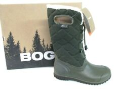 Bogs Women's Juno Lace Tall Waterproof Insulated Boot ARMY Green 6 M US 4967 []