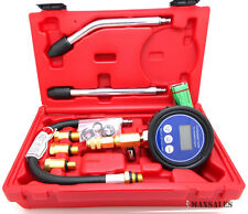 "Digital Automotive Compression Tester 2-1/2"" LCD digital Gauge Engine Tester"