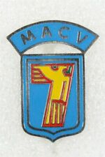 Army Vietnam made Di Pin: Macv Advisory Team Arvn 7th Div - blue, Beer can style
