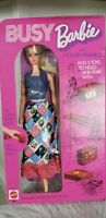 BUSY BARBIE Doll with Holdin' Hands in Mint Box Vintage 1970's 1971 Rare