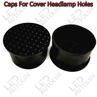 2x 50mm Rubber Caps For Headlamps Holes Cover P13W LED Bulbs DRL Car Audi A4 B8