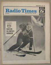 Radio Times/1964/Winter Olympics/Vanessa Redgrave/Top of the Pops/Jimmy Savile/