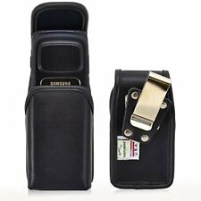 Genuine Leather Rugged Magnetic Case for Samsung Rugby 4