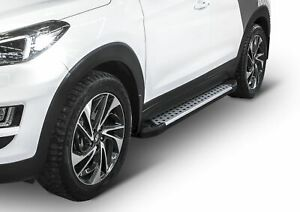 RIVAL Marche Pieds Aluminium  pour Hyundai Tucson 2015-2018 Advanced