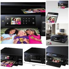 Epson Wireless Inkjet All-In-One Photo Scanner Copier Printer-Printable DVD CD