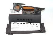 Oakley Gascan POLARIZED Sunglasses OO9014-5160 Matte Olive Camo W/PRIZM Tungsten