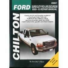 Chilton Repair Manual Ford Super Duty Pick-ups & Excursion, 1999-10 # 26667